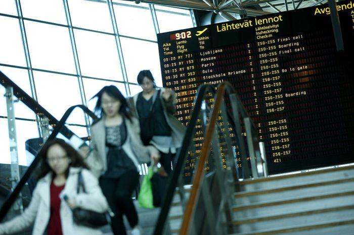Reedel Helsingi-Vantaal taas suur lennujaamastreik