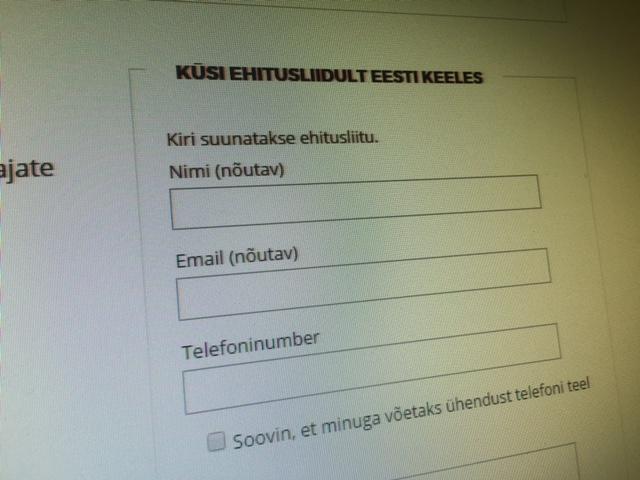 TÄHELEPANEK: Rakennusliitto (ehitusliit) vastab sinu küsimustele eesti keeles