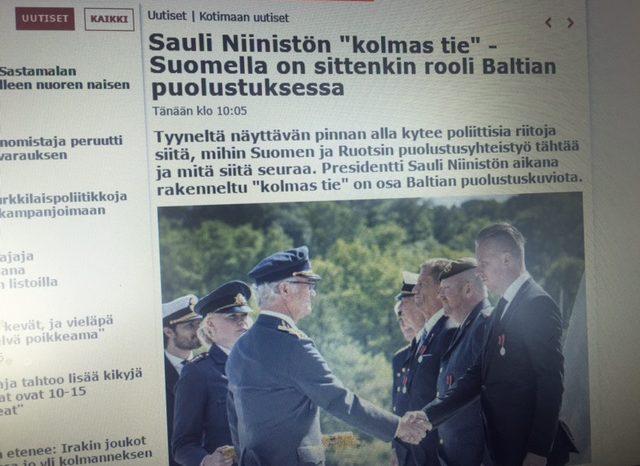 IL: Soome siiski tuleb sõja korral Eestile appi