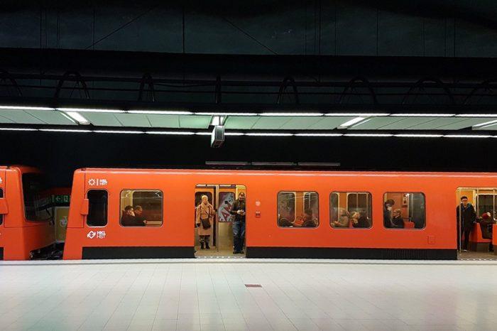 Suitsev vagun peatas kogu Helsingi metrooliikluse