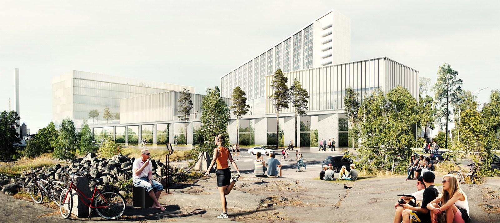 Helsingis algab Soome suurima haigla ehitus