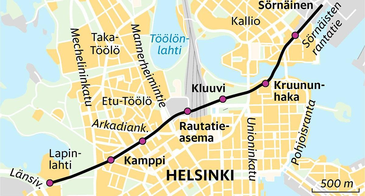 Helsingi uus linnapea tahab kesklinna alla autotunneli rajada