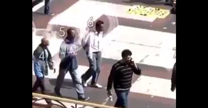 VIDEO: Profid tänaval! Vaata, kuidas mõne sekundiga telefon varastatakse