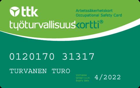 Eestikeelne tööturvalisuskaardi koolitus 27.7. Helsingis