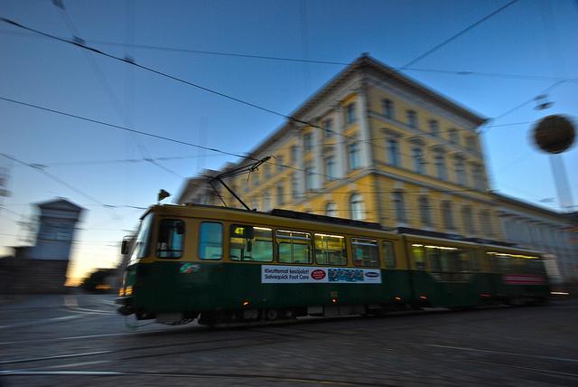 Helsingi trammides lõppeb piletimüük