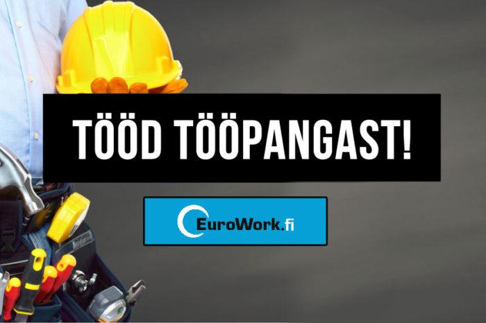 Nõudlus ehitajate järele kasvab! - Eurowork.fi - tööd tööpangast