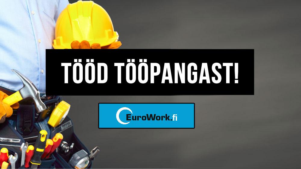 Nõudlus ehitajate järele kasvab! – Eurowork.fi – tööd tööpangast