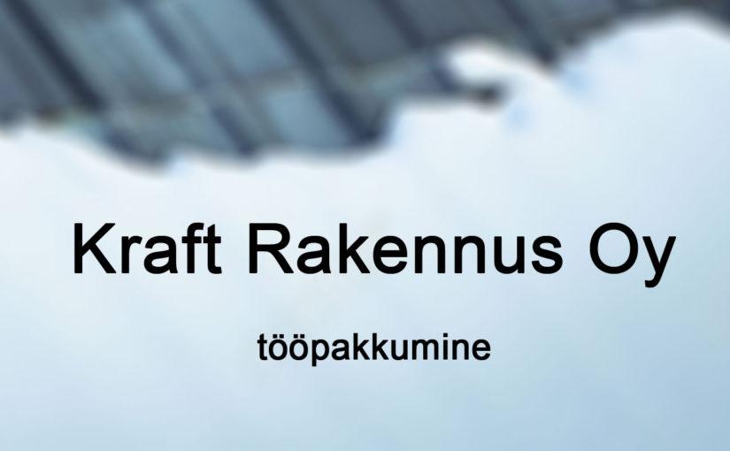 Kraft Rakennus Oy pakub Uusimaal lumekoristustöid