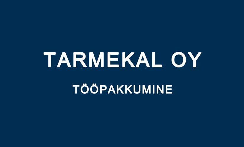 Tarmekal Oy otsib kontorisse abilist